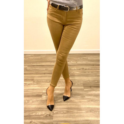 Jeans camel skinny push up
