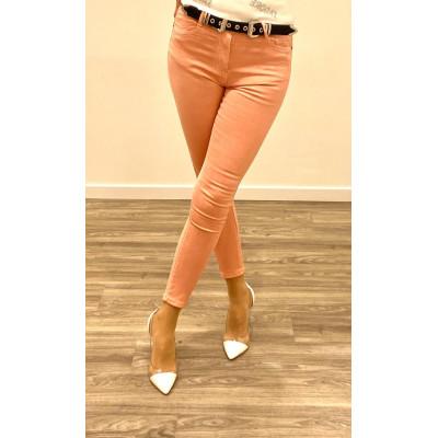 Jeans rose skinny push up