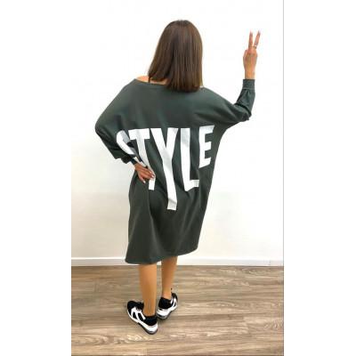 "Pull-Robe comfy ""Style"" kaki"