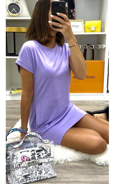 Robe T-shirt à poche