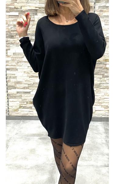 Robe pull effet oversize