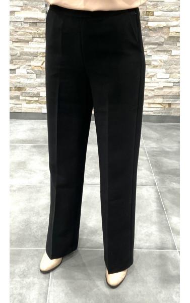 Pantalon taille haute évasé