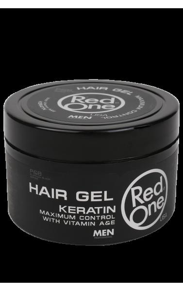 RedOne hair gel keratin avec vitamine A et E