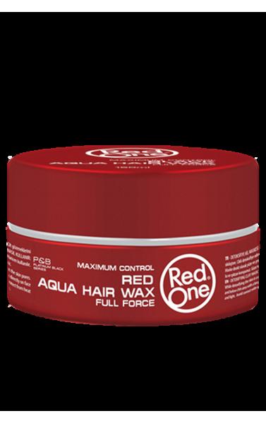 RedOne red Aqua hair wax full force