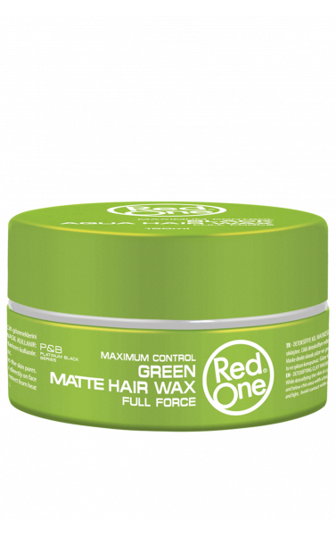 Red One green matte hair wax 150ml