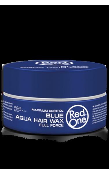 Red One blue aqua hair wax 150ml