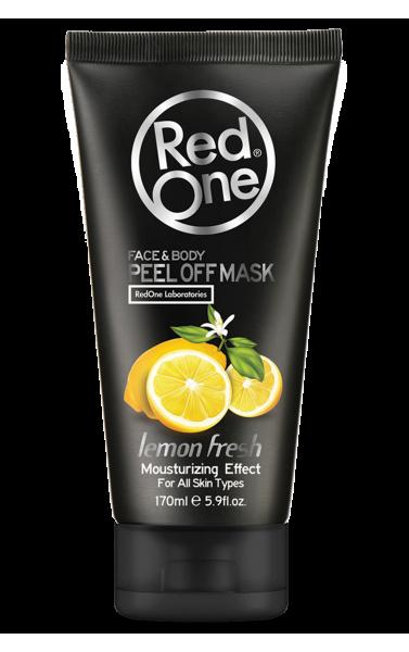 Red One masque décolable arome citron frais 170ml