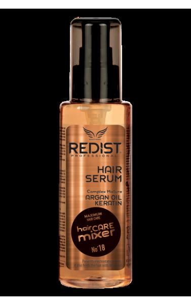 Redist sérum pour les cheveux huile d'argan kératine 125ml