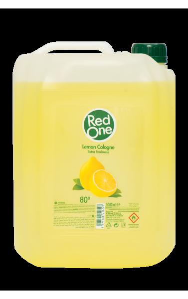 Red One eau de cologne senteur citron 5000ml