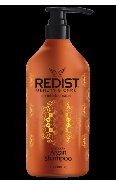 Redist shampoing pour cheveux enrichie à l'huile d'argan...