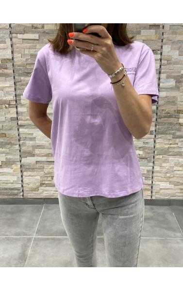 T-Shirt basic avec écriture