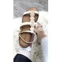 Sandales à double brides