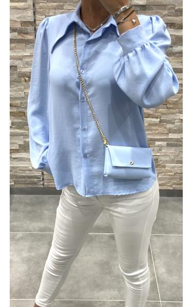 Chemise avec pochette à chaine
