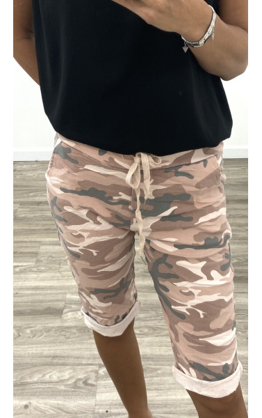 Bermuda jogger camouflage